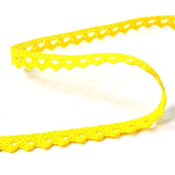 Мереживо 75361 181, жовте, 09 мм