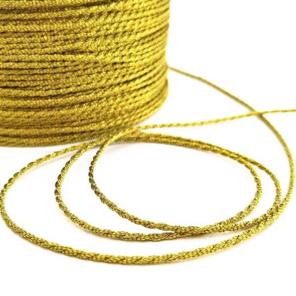 шнур золотий ліон пряжа пега pega