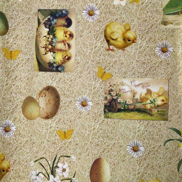 пасха ткань декор
