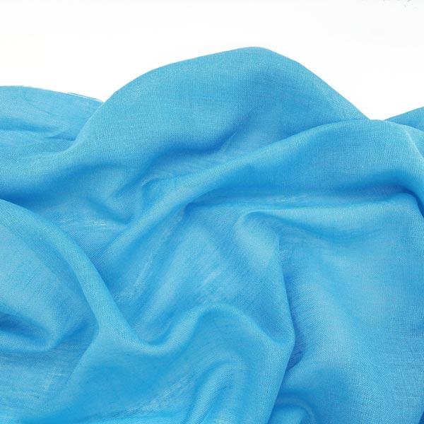 голубая ткань марлевка