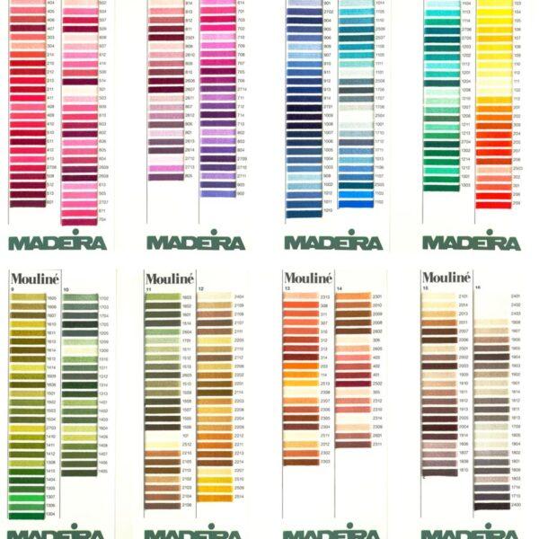 паітра кольорів мадейра